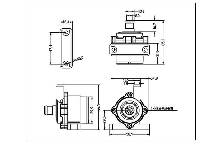DC40M-Dimensions