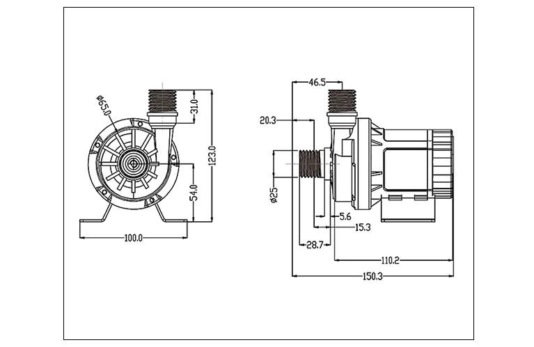 DC60G-dimensions