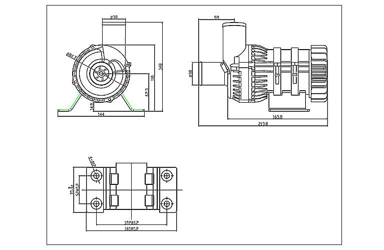 DC80D-dimensions