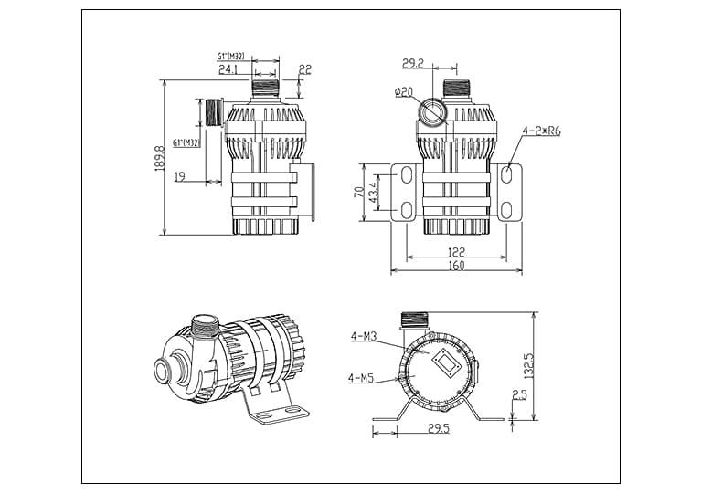 DC80E-dimensions